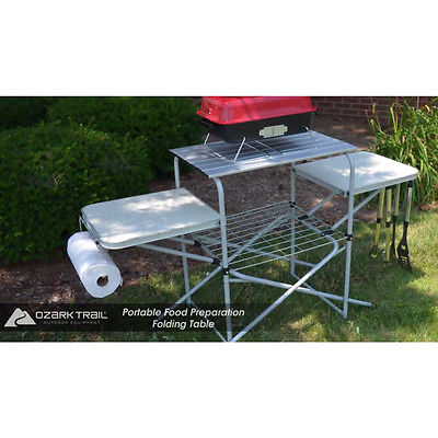 Portable Folding Camping Cooking Table Camp G 171 Cool