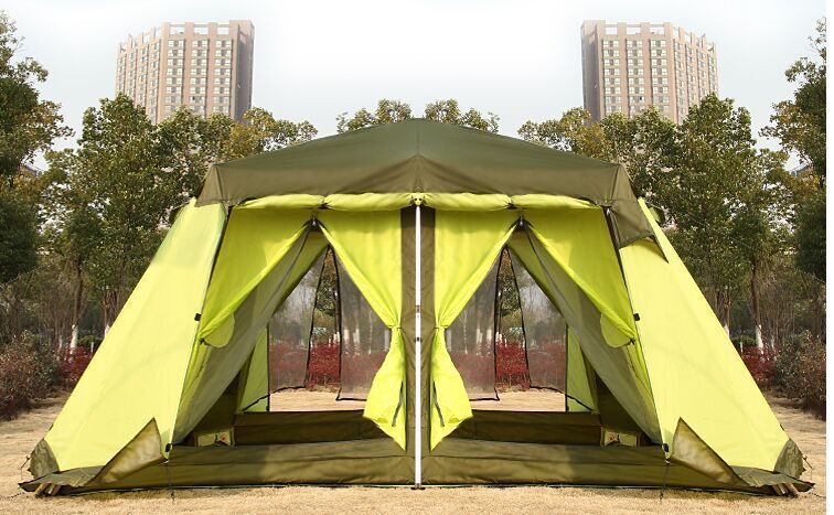 & Two rooms a hall Outdoor camping tenu2026 « Cool Camping Gear